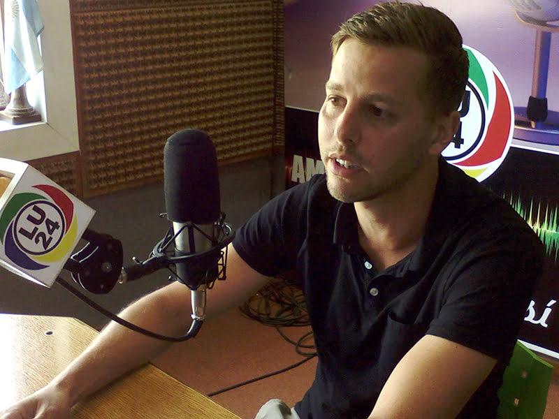 """La experiencia de Cristian Sunesen en Dinamarca: """"a la Argentina le falta estabilidad"""""""