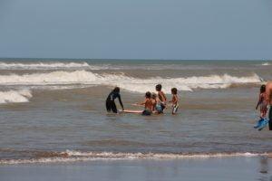 Bellísima jornada para disfrutar en Claromecó