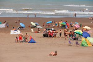 Claromecó: descompensado en la playa