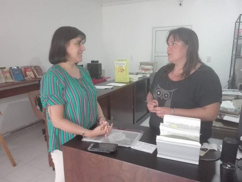 La directora de Cultura coordinó actividades en Reta