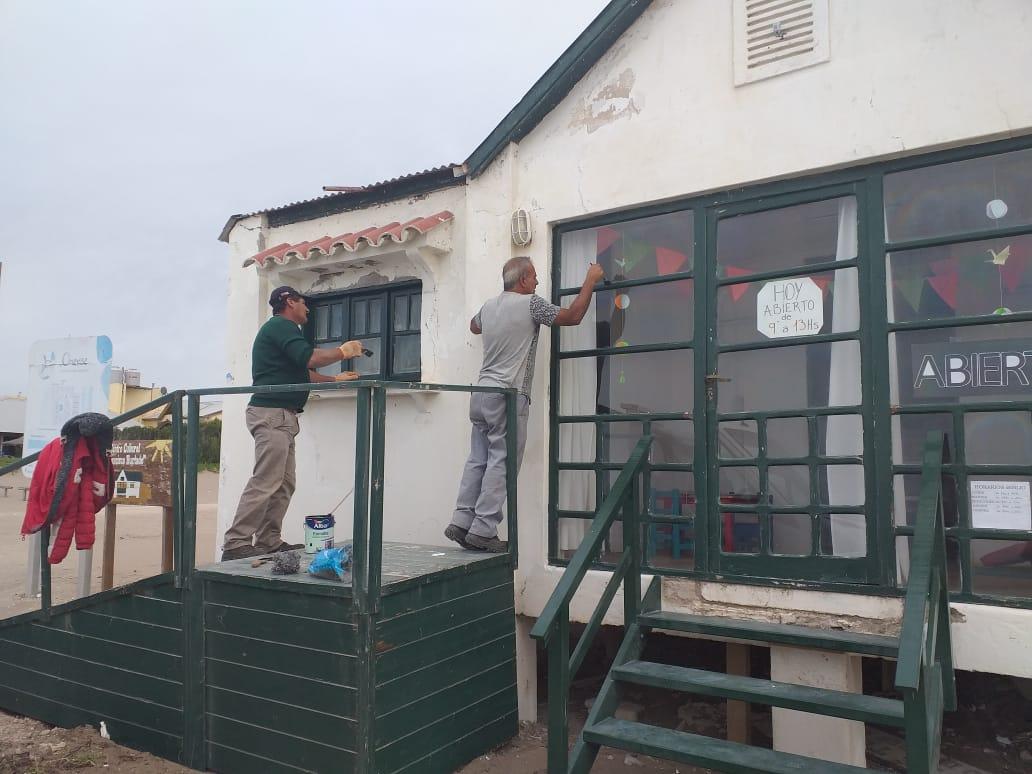 Reacondicionan el Centro Cultural en Balneario Orense