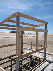 Nuevo espacio para los guardavidas de Orense