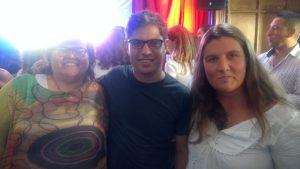 Kicillof le adelantó a la concejala Lescano que vendrá a la Fiesta del Trigo