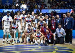 San Lorenzo subió al podio en la Copa Intercontinental FIBA