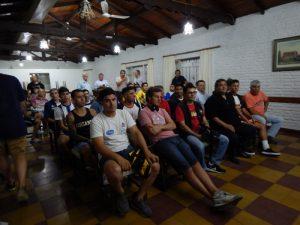 Huracán presentó las copas Aiello y García