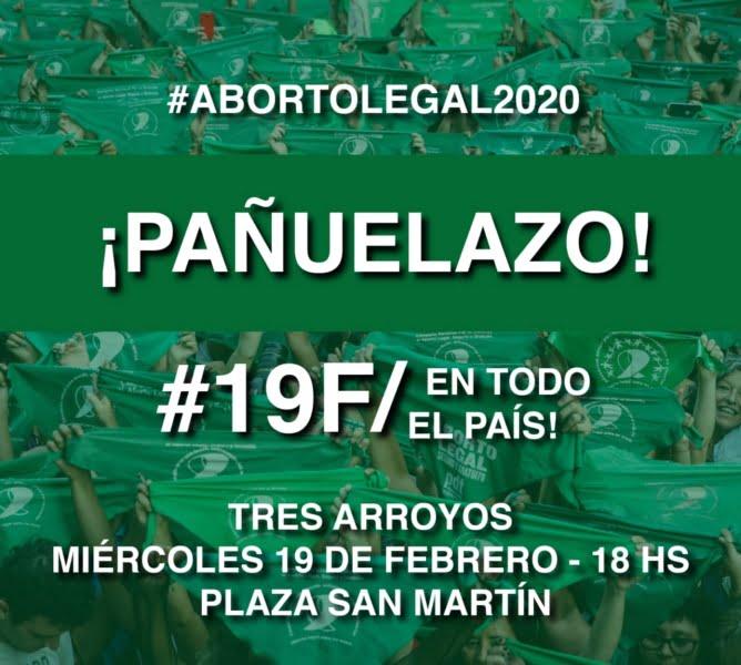 #19F: Pañuelazo por el Aborto Legal en todo el país