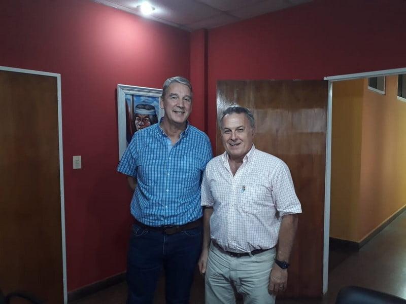Gustavo Rodera se reunió con el Ministro de Educación de Misiones