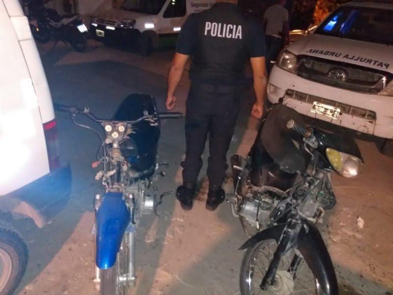 Secuestraron motos en  un operativo de tránsito