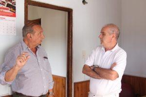 El Intendente visitó la Cabina Sanitaria tras los trabajos de mantenimiento