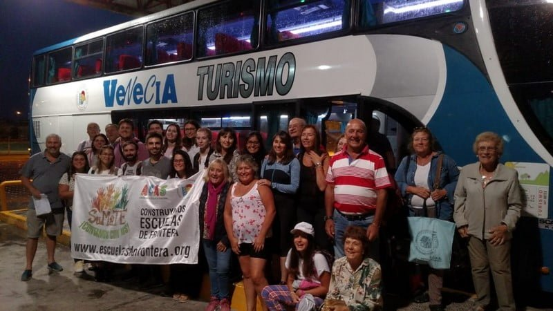 Casistas partieron rumbo a la provincia de Misiones