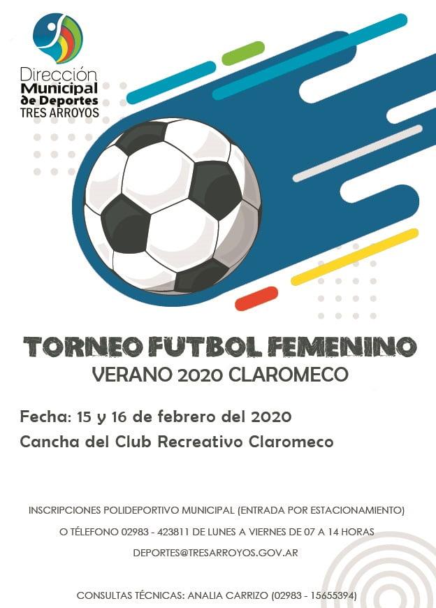 Se acerca una nueva edición del Torneo de Fútbol Femenino de Verano