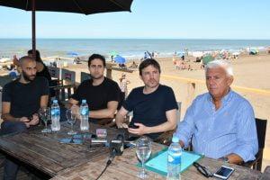 """Costa en Monte Hermoso: """"El Turismo es empleo y vamos a apuntalar su desarrollo a lo largo de todo el año"""""""