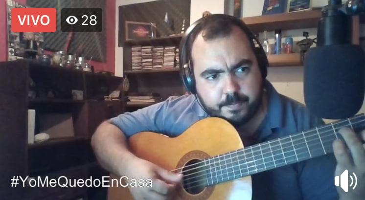 """Para pasar con música la cuarentena, súmate a la peña virtual del """"Pancho"""""""