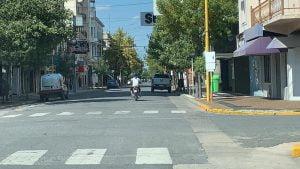 Sábado de cuarentena con movimiento en la ciudad