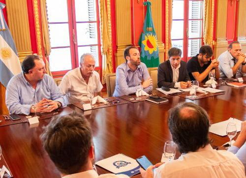 Kicillof se reunió con intendentes del Frente de Todos (Video)