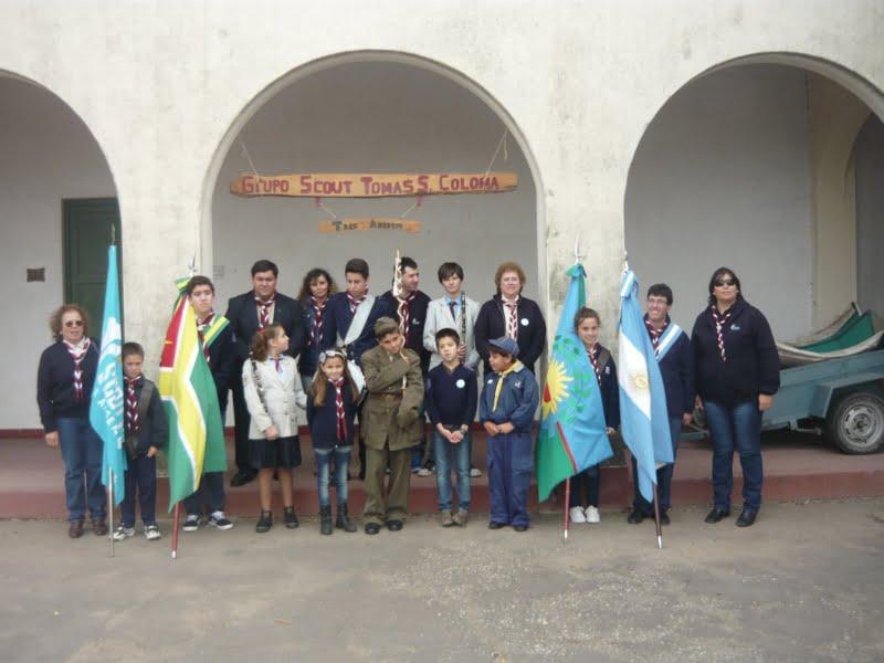 Scouts proponen embanderar la ciudad en homenaje a los excombatientes de Malvinas