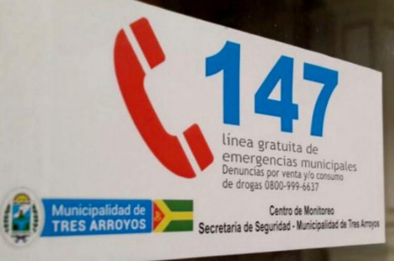 Para denunciar incumplimiento de cuarentena: llamar al 147 o 134