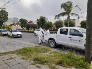 Gestión Ambiental y Servicios Públicos llevan a cabo la desinfección en tres equipos