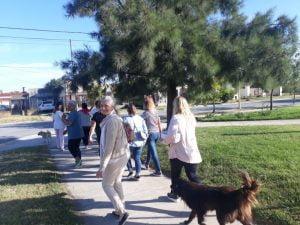 Realizaron caminata en Villa Italia organizada por el CAPS