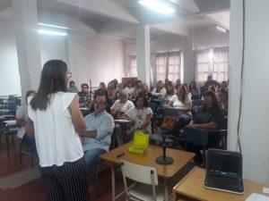 Informaron a integrantes del sector educativo sobre medidas ante la pandemia