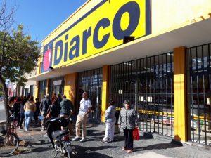 Gran convocatoria de gente por la apertura de Diarco (video)