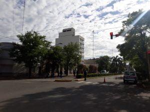Ya comenzaron los controles policiales en distintos puntos de la ciudad