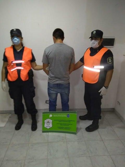 Dos detenidos en Dorrego por incumplir el aislamiento