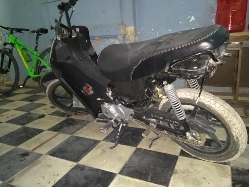 Recuperaron una moto robada en Tacuarí al 300