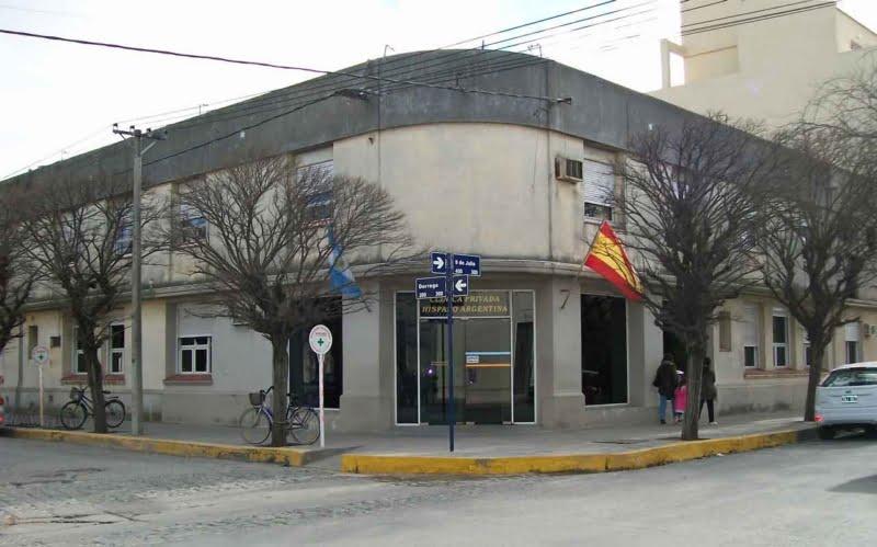 Agradecimiento del Círculo Médico y la Clínica Hispano Argentina