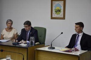 Gargaglione inauguró las sesiones ordinarias del Concejo Deliberante de San Cayetano