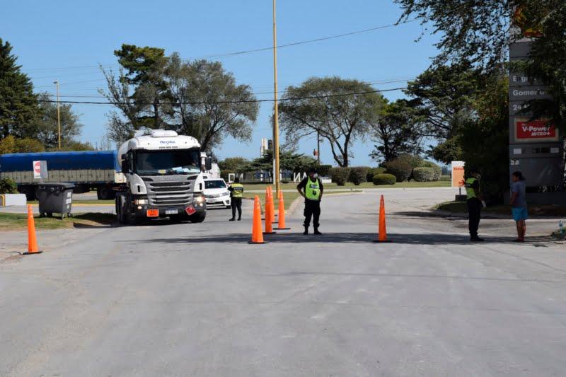 Restricción en los accesos a San Cayetano