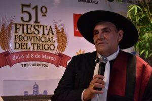 """""""Lo de hoy ha sido espectacular"""", dijo el Chaqueño tras presentarse en el escenario de la Fiesta del Trigo (Video)"""