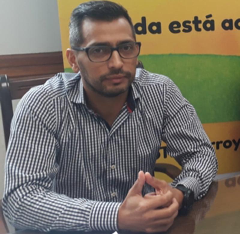 """Diego Rodríguez: """"Gastamos 1 millón de pesos en insumos críticos"""""""