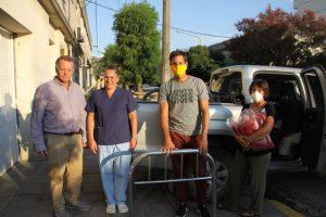 Rotary Club Tres Arroyos entregó equipamiento a la Clínica Hispano Argentina