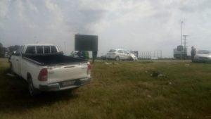 Impactante choque en Ruta 3 y 85: una mujer fue trasladada al Hospital (Videos)