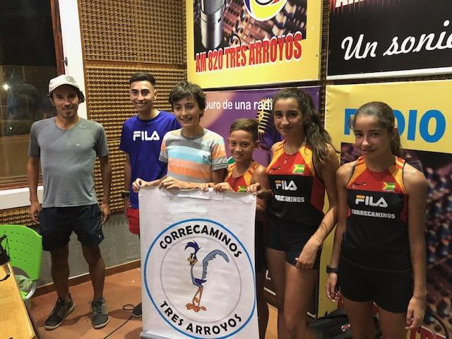 """Los """"Correcaminos"""" en LU 24 tras destacada tarea en Mar del Plata"""