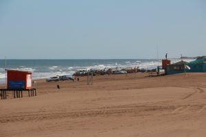 Claromecó: pese a la emergencia sanitaria hubo gente en la playa