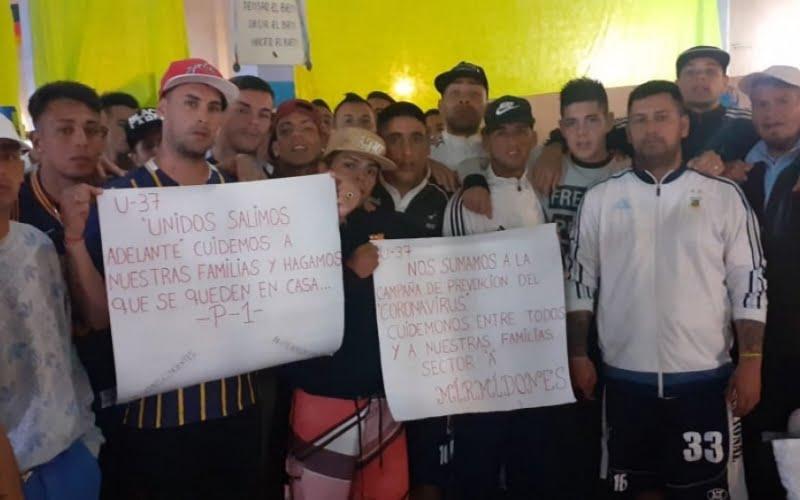 Prevención: Presos en Villa Floresta, Saavedra y Barker decidieron no recibir visitas