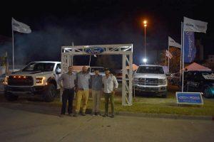 Roas exhibe las mejores unidades de Ford en la Fiesta del Trigo