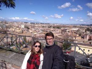 Dos tresarroyenses que pasean por Roma aseguran que no hay paranoia por el Coronavirus (video)