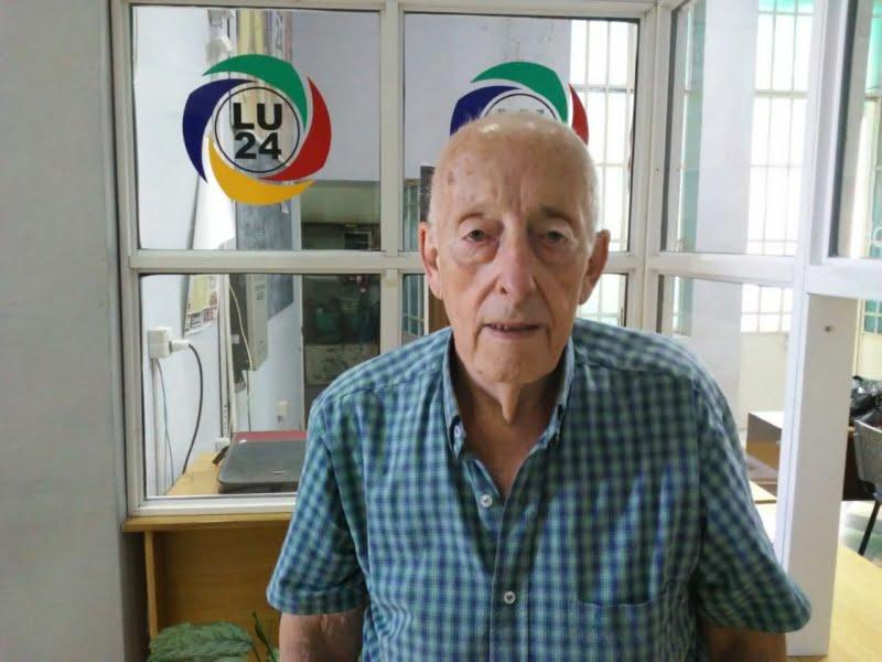"""El Centro de Jubilados y Pensionados festeja los 80 años de """"Quito"""" Di Rocco"""