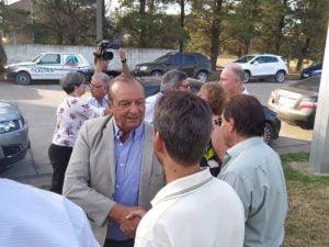 El ministro de Desarrollo Agrario Javier Rodríguez recorrió el Parque Industrial