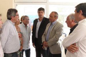 De Benedetto junto al ministro Rodríguez por Arriba Pymes