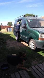Robaron herramientas en una vivienda de Chacra de López