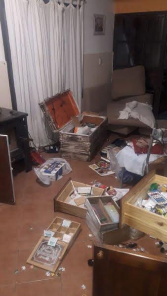 """""""Por favor no compren lo que nos robaron"""" dijo la dueña de la vivienda saqueada"""
