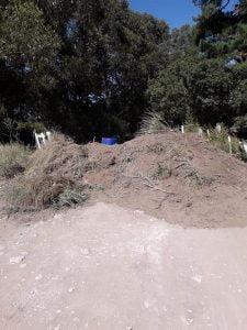 Cierran caminos vecinales en Claromecó para que la gente no ingrese