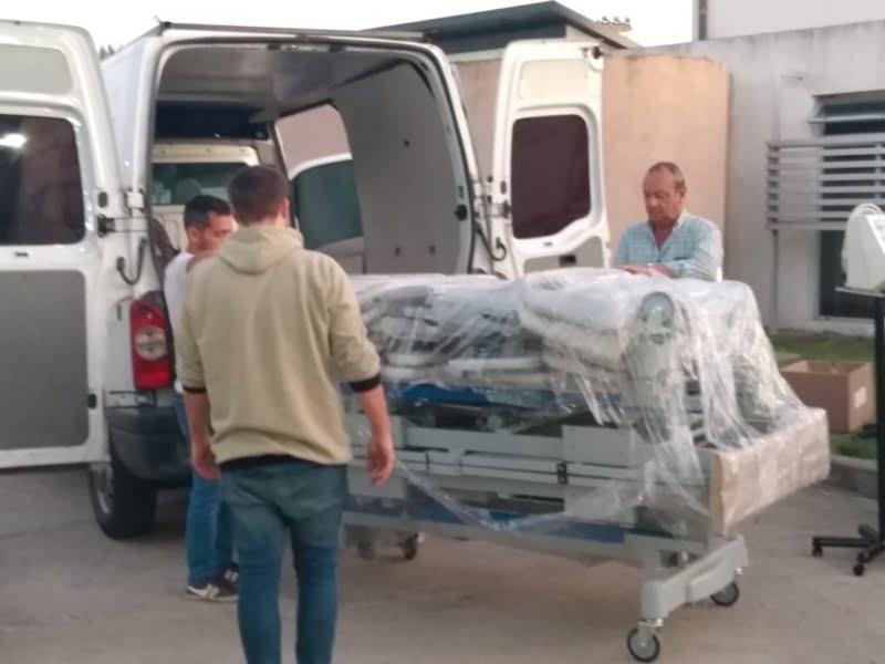 La campaña por el Hospital lleva $3.971.632,99: Sánchez y Galilea recibieron respirador y equipamiento (video)
