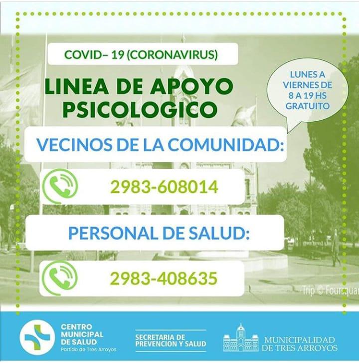 Iniciativa de psicólogos: línea de apoyo gratuito