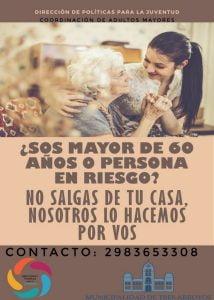 El Municipio busca voluntarios para ayudar a adultos mayores