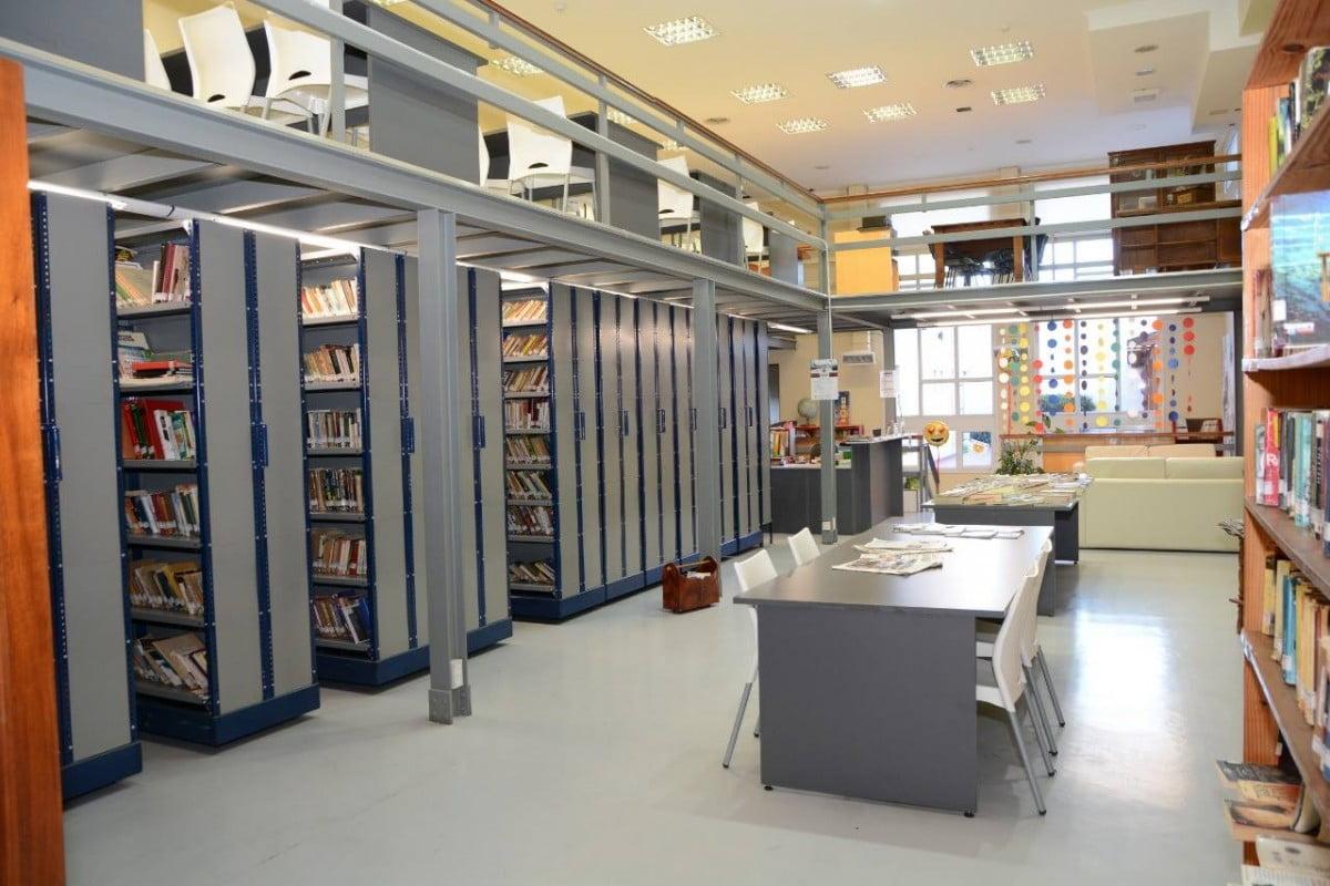 La Biblioteca Cacuri, cerrada hasta el 31 de marzo inclusive